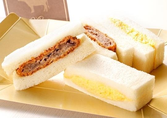 松阪牛ビーフサンド&スクランブルエッグサンド